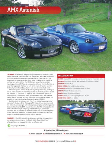 Complete Kit Car Guide 2011 By Performance Publishing Ltd Issuu