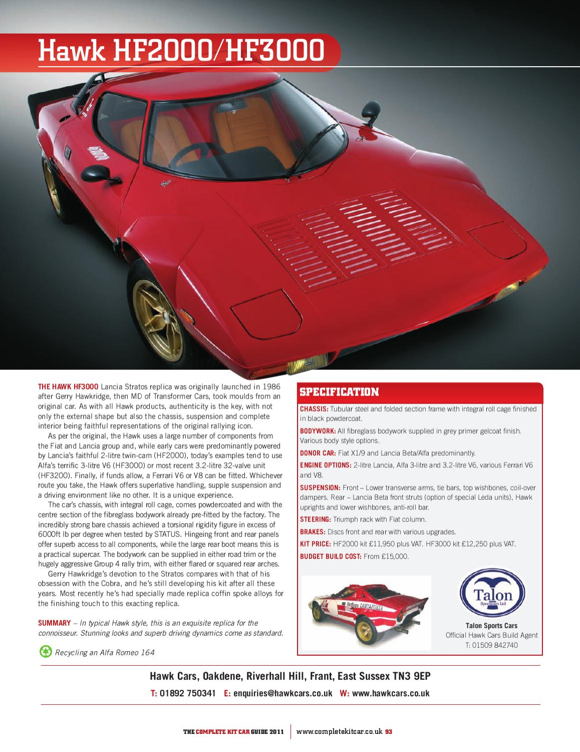 Complete Kit Car Guide 2011