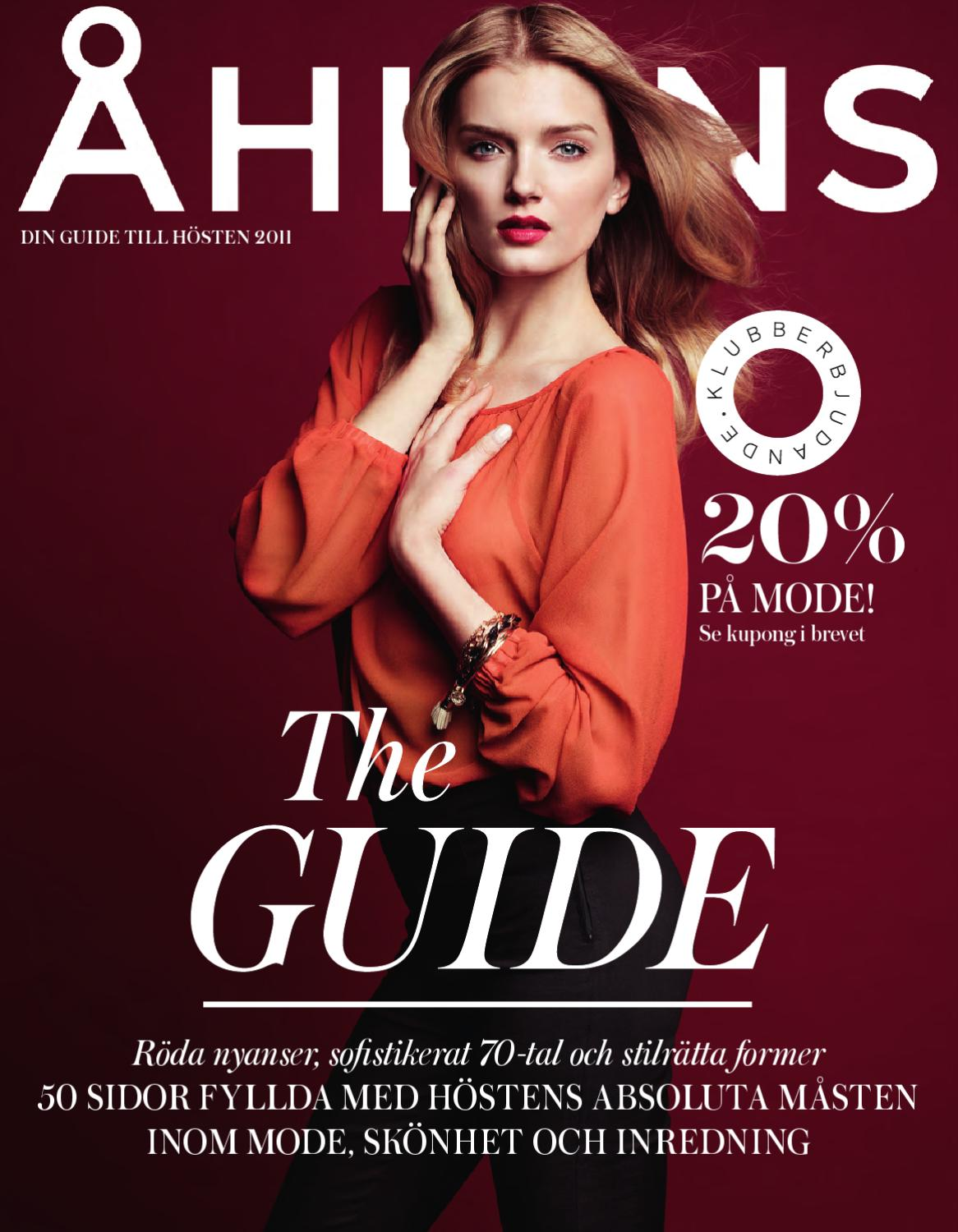 120d844d Fashionguide by Åhléns - issuu