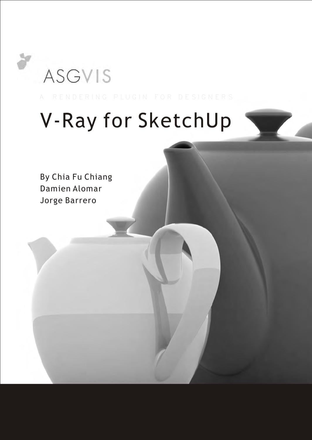 In this class we will go through entire VRay functionality