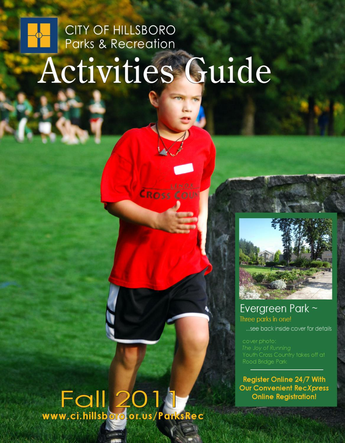 Hillsboro Parks & Recreation 2011 Fall Activities Guide by