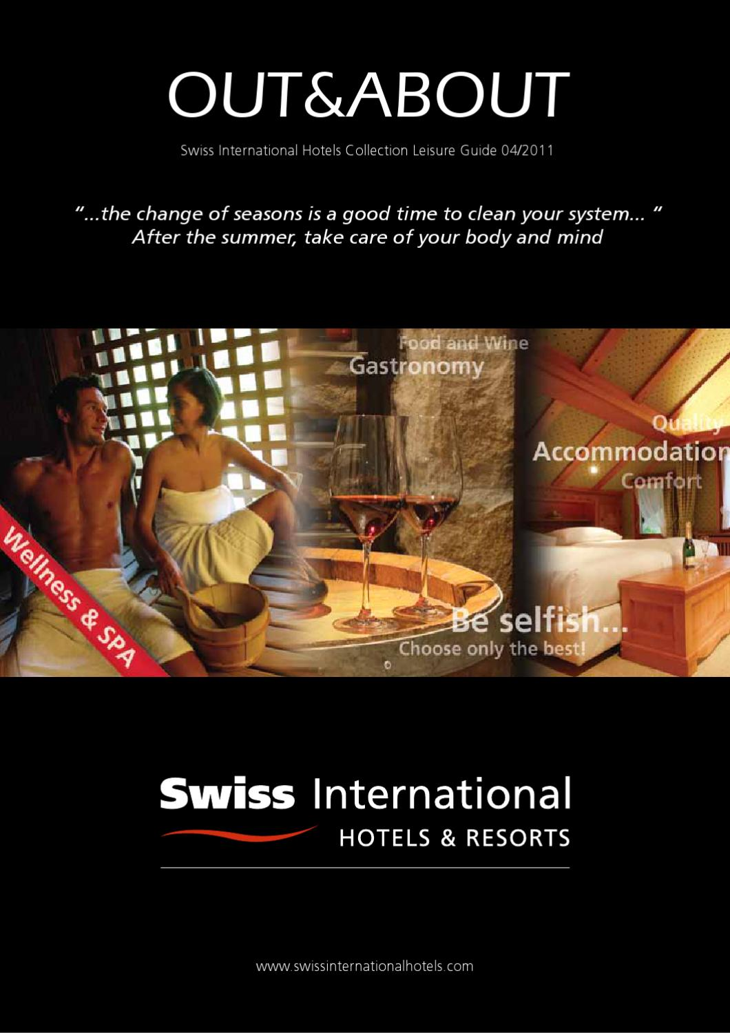 out amp about wellness and spa by swiss international