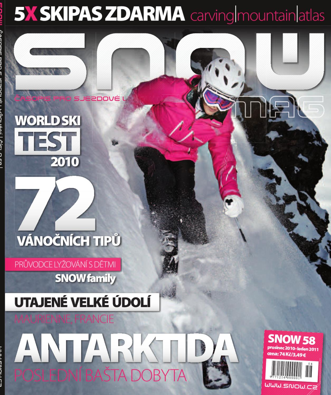 SNOW 58 - prosinec 2011 by SNOW CZ s.r.o. - issuu ed7624275c4