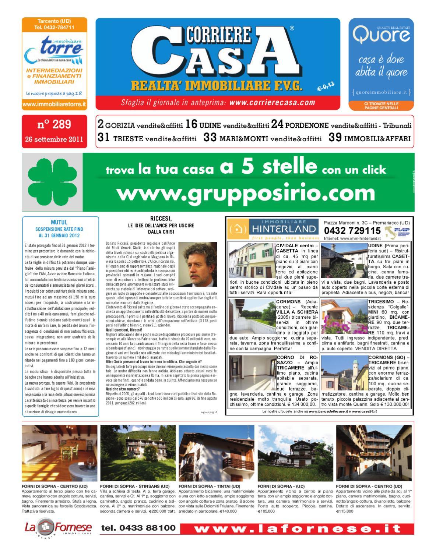 Corriere casa 289 by corriere casa fvg issuu - Fideiussione bancaria o assicurativa acquisto casa ...