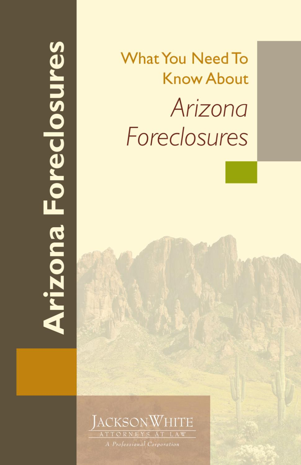 What you need to know about arizona foreclosures by jacksonwhite issuu falaconquin