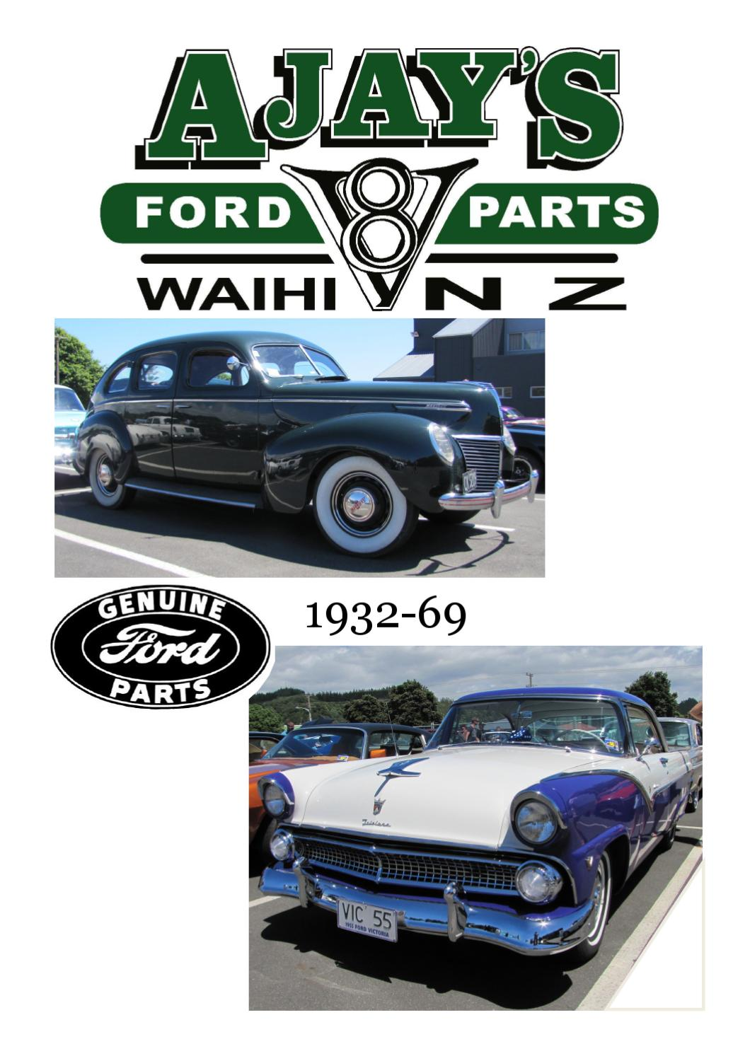 Ajays Ford V8 Parts Catalogue By Issuu 1941 F100