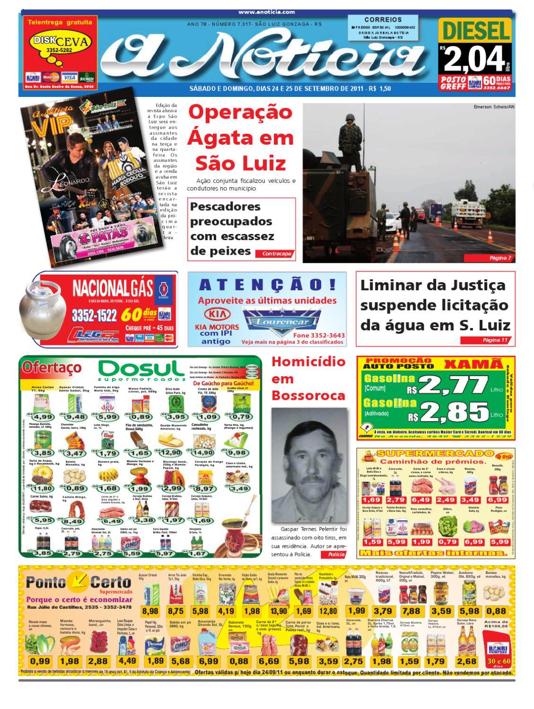 172ca7ccca3 Edição dos dias 24 e 25 de setembro de 2011 by Jornal A Notícia - issuu