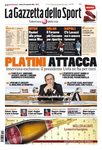 d7940c4694 www.gazzetta.it sabato 24 settembre 2011 1,50 €. REDAZIONE DI ...