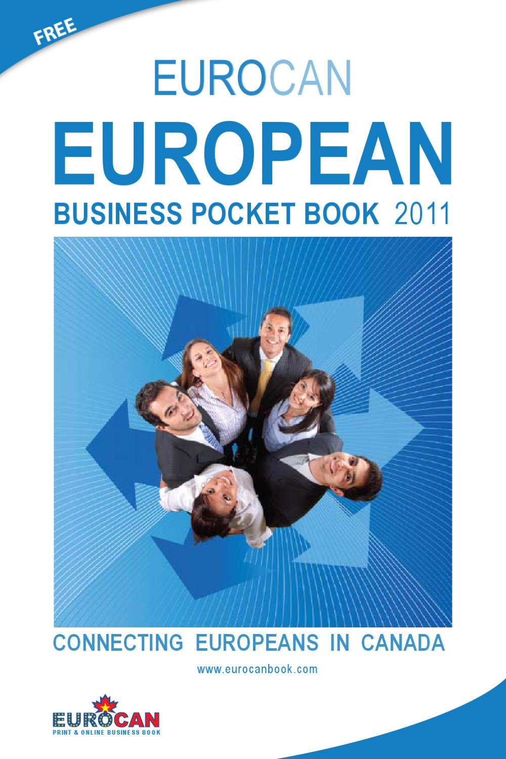 Eurocan Business Pocket Book 2011 by Euro Can - issuu