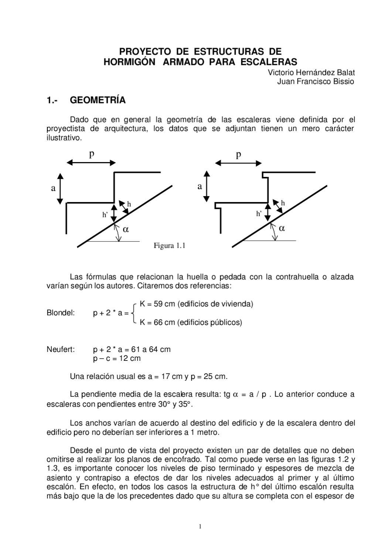 Calculo estructural de escaleras by rodrigo cuello issuu for Dimensiones de escaleras