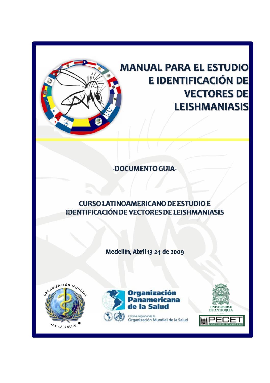 Estudio e identificaci n de vectores de leishmaniasis by for Organizacion de viveros