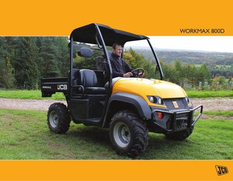 JCB Workmax 800D Brochure (US) 2011 by JCB North America - issuu