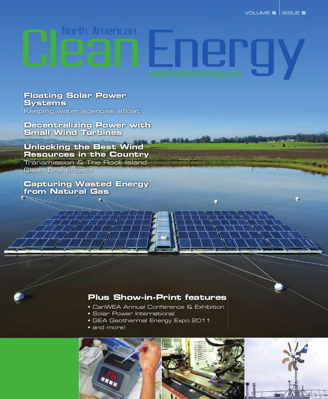 North American Clean Energy - September October 2011