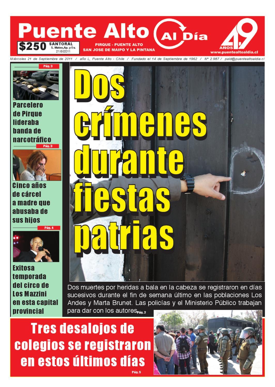 Edición miércoles 21 de septiembre by Puente Alto Al Día - issuu