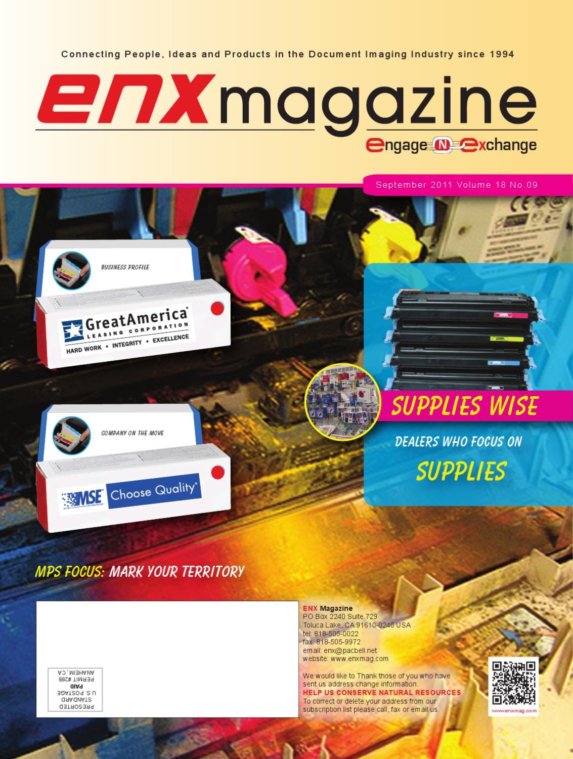 2011 September ENX Magazine by ENX Magazine - issuu