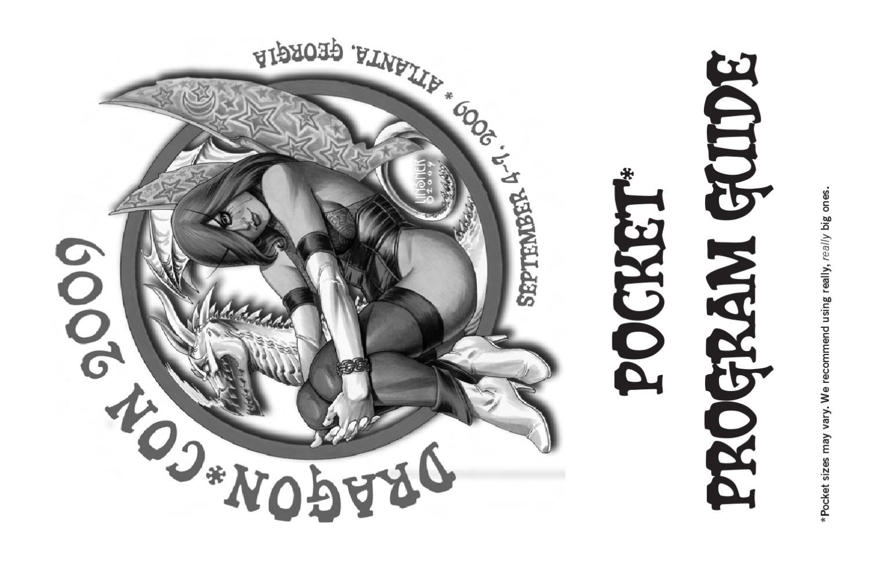2009 Dragon*Con Pocket Program by Dragon Con - issuu