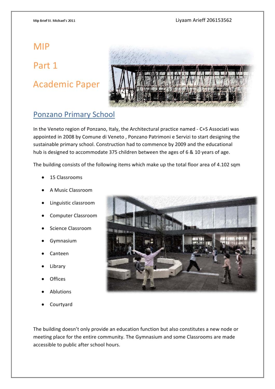 Comune Di Ponzano Veneto mip_part 1 - ponzano primary school by liyaam arieff - issuu