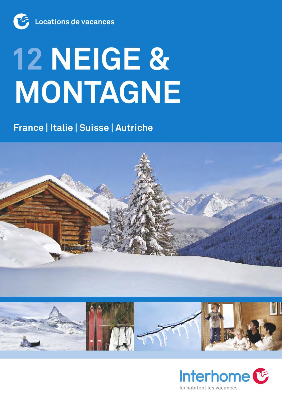 Interhome NEIGE & MONTAGNES 40 by Interhome AG   issuu