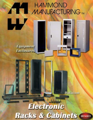 Hammond FT600HA1BK Rackmount Server Rack Fan Tray 6 Fans