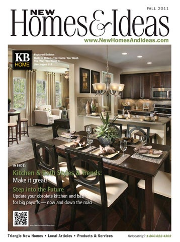 New Homes Ideas Fall 2011 Issue