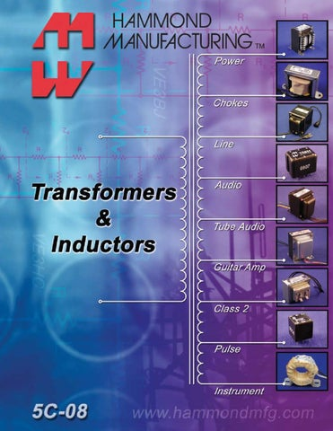 Hammond Transformers and Inductors by Electronic Expeditors ... on