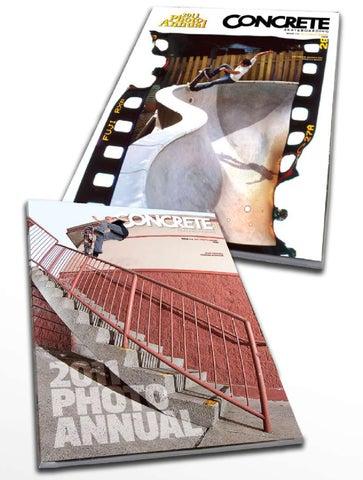 competitive price 67066 46312 Concrete Skateboarding 2011 Photo Annual by Concrete Skateboarding ...