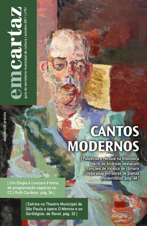EM CARTAZ by Em Cartaz - Revista da Secretaria Municipal de Cultura de São  Paulo - issuu 30182e6576b
