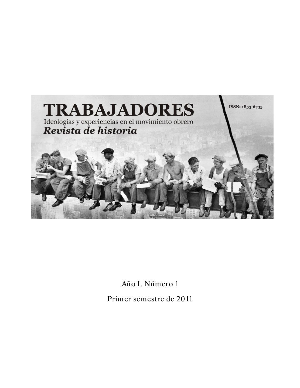 Trabajadores. Ideologías y experiencias en el movimiento obrero by ...