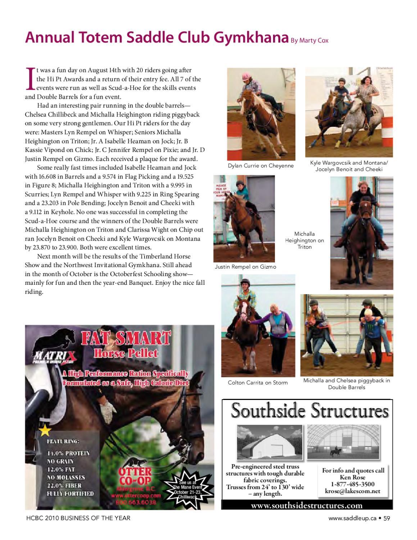 Saddle Up Oct 2010 by Saddle Up magazine - Issuu