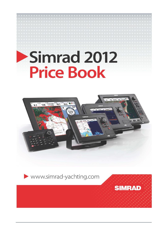 BSM-1 SIMRAD WM-2 Powerkabel,2m NSE