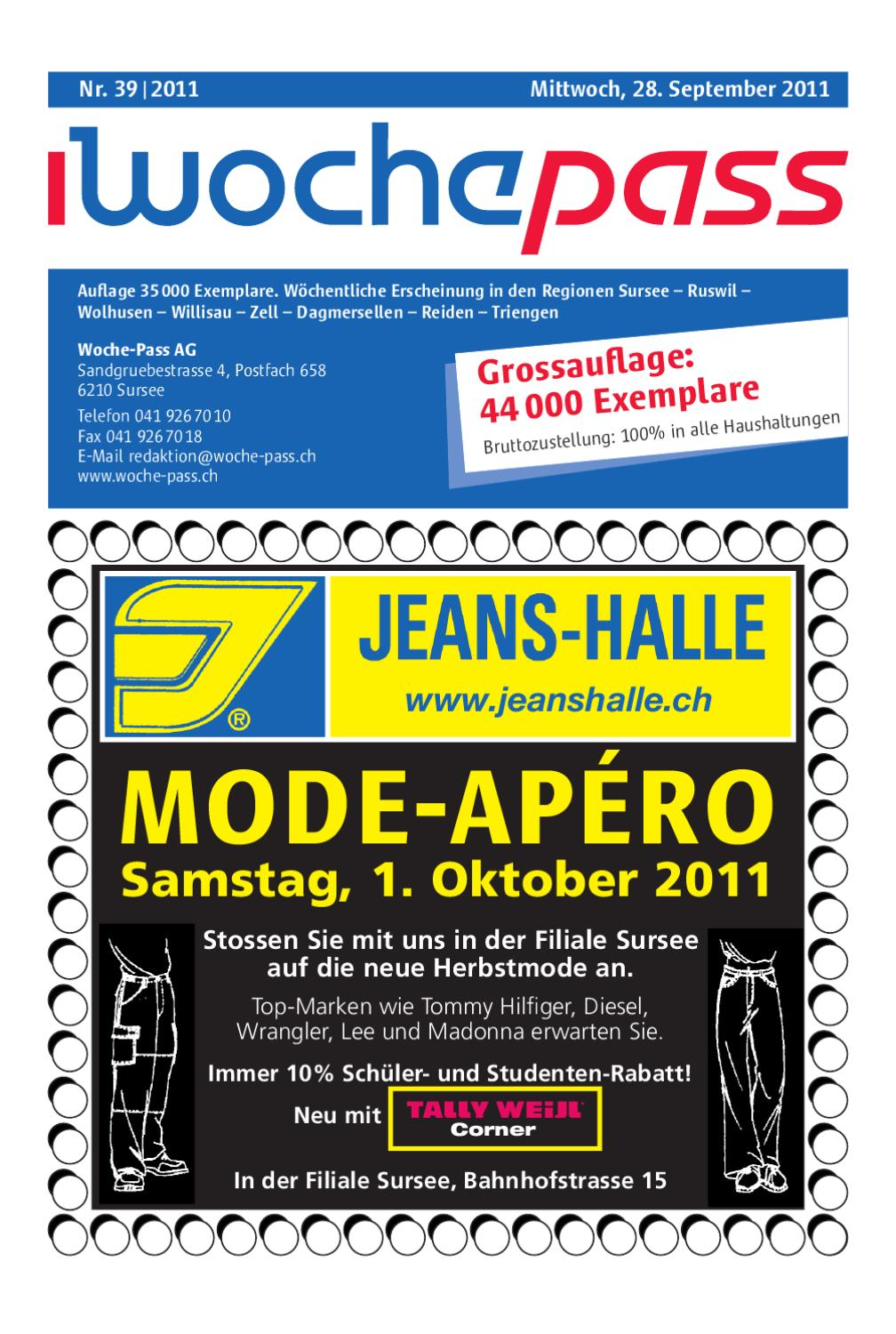 Woche-Pass | KW39 | 28. September 2011 by Woche-Pass AG - issuu