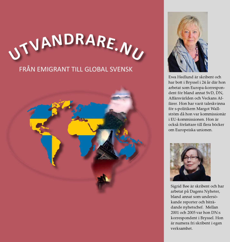 Boken Utvandrare.nu - från emigrant till global svensk by Swedes Worldwide  SVENSKAR I VÄRLDEN - issuu 1eaafcde02e55