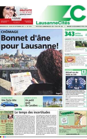 5671e0b7da Lausanne Cités du 29/09/2011 by GHI & Lausanne Cités - issuu