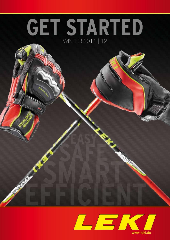 Leki Gant Leash Confort Flexible Gant Support
