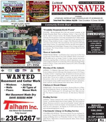 Latham Pennysaver 092911 By Capital Region Weekly