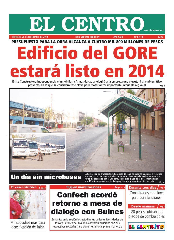 diario00_28-09-2011 by Diario El Centro S.A - issuu