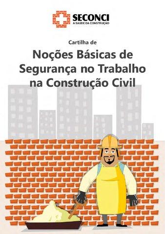 07fbc5238a64a Cartilha de Noções Básicas de Segurança no Trabalho na Construção ...