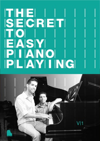 The secret to easy piano playing by Omer Gaash - issuu