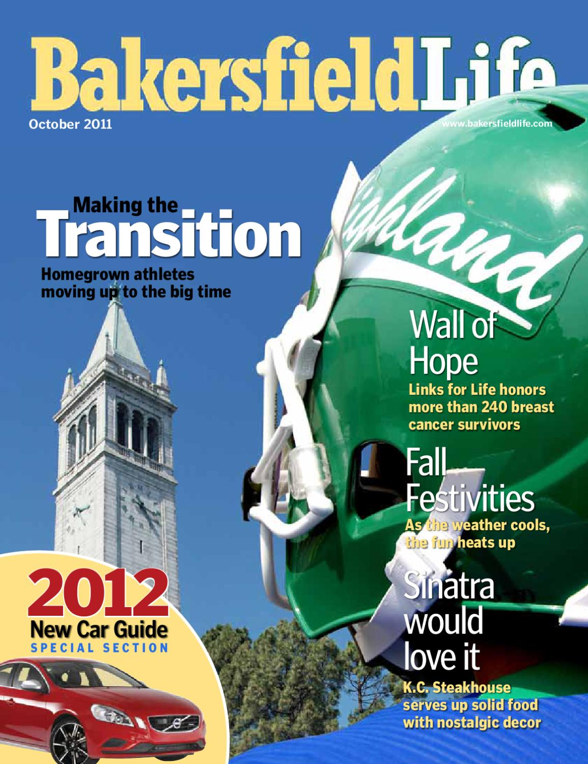 Bakersfield Life Magazine October 2011 By Tbc Media