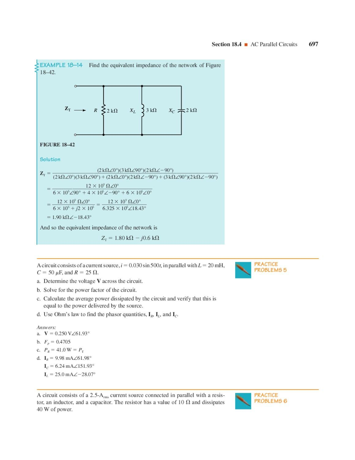 Analisis De Circuitos By Jose Luis Ola Issuu All The Resistors In A Parallel Circuit We Can Use Ohms Law To