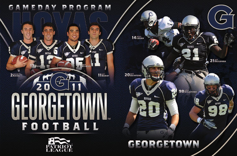2011 georgetown football gameday program by georgetown
