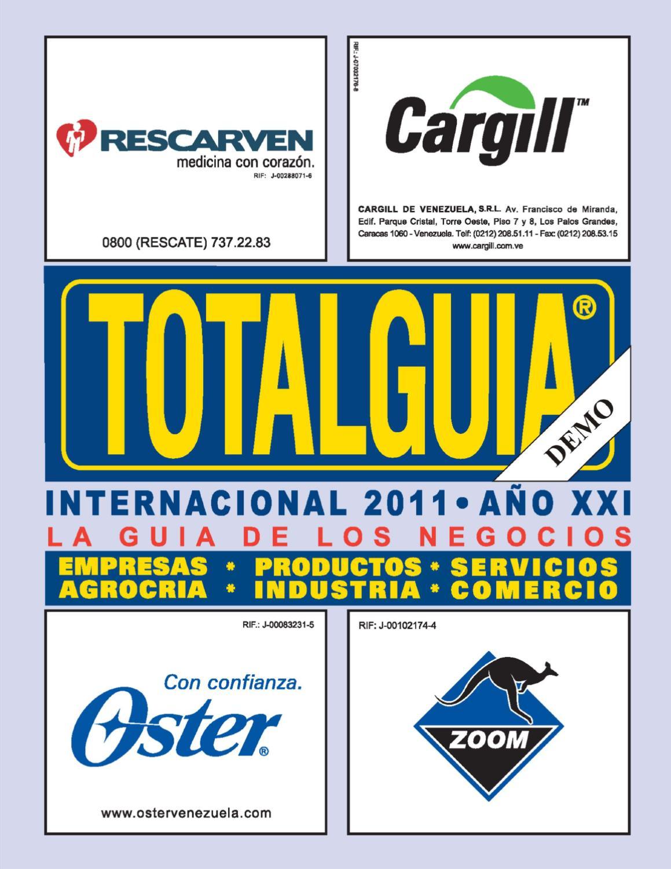 wholesale dealer 3ff94 bcde6 TOTALGUIA DIGITAL (DEMO) by ECOLIBROS, C.A. - issuu