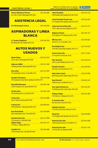 Directorio Hispano de MN by Latino Communications Network ...