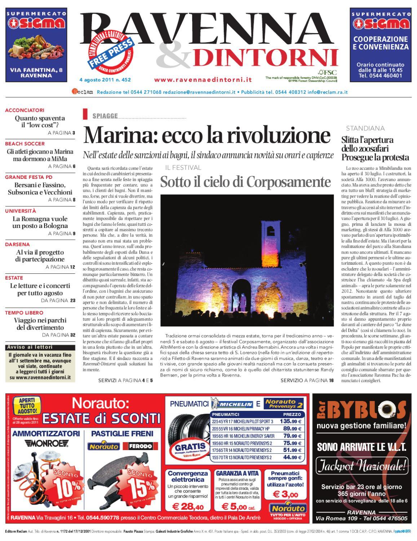 Ravenna   Dintorni 452 - 04 08 2011 by Reclam Edizioni e Comunicazione -  issuu 4ddf0c9cc2f4
