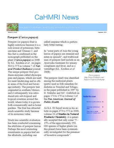 CaHMRI Newsletter - Issue 10 by Utt Corp - issuu
