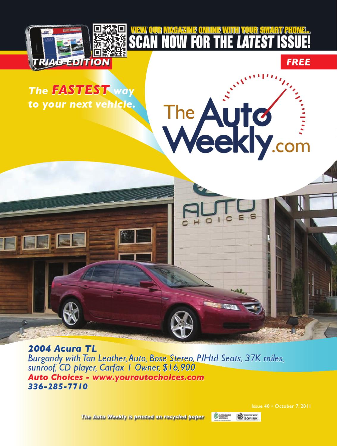 Issue 1140b Triad Edition The Auto Weekly By Issuu 2008 Infiniti Fx35 Oem Remote Start With Smartphone Control Free