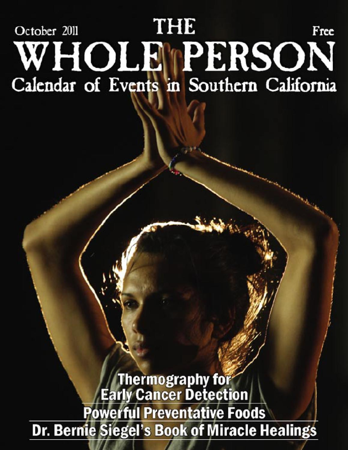 Whole Person Calendar - October 2011 by Whole Person