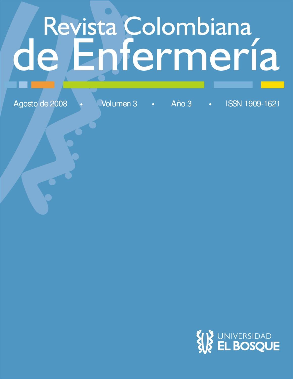 Revista Colombiana de Enfermería No.3 Vol. 3 by Universidad El ...