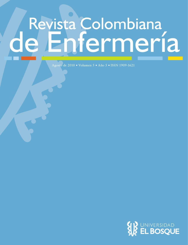 Revista Colombiana de Enfermería No.5 Vol. 5 by Universidad El ...