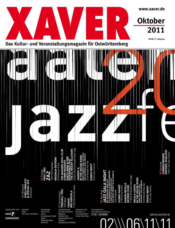 XAVER - Oktober \'11 by Hariolf Erhardt - issuu